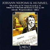 Play & Download Hummel: Chamber Sonatas by Various Artists | Napster