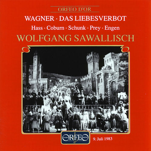 Play & Download Wagner: Das Liebesverbot by Hermann Prey | Napster