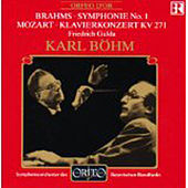 Play & Download Brahms: Symphony No. 1 - Mozart: Piano Concerto No. 9 by Various Artists   Napster
