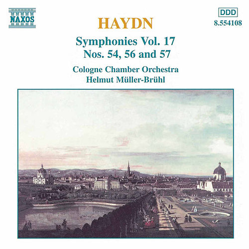 Play & Download Symphonies Nos. 54, 56 and 57 by Franz Joseph Haydn | Napster