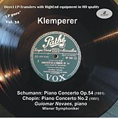 LP Pure, Vol. 32: Klemperer Conducts Schumann & Chopin (Historical Recordings) by Guiomar Novaes