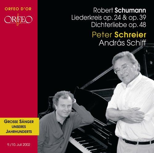 Schumann: Liederkreis, Op. 24 & 39 & Dichterliebe, Op. 48 by Peter Schreier