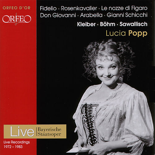 Beethoven, Mozart, Nicolai, Puccini & Strauss: Opera Arias by Lucia Popp