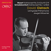 Play & Download Mozart & Shostakovich: Violin Concerto by David Oistrakh | Napster