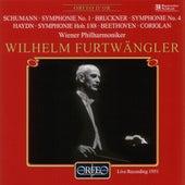 Play & Download Schumann, Bruckner, Haydn & Beethoven: Orchestral Works by Wiener Philharmoniker | Napster