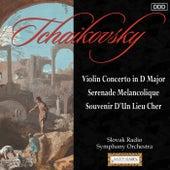 Tchaikovsky: Violin Concerto in D Major - Serenade Melancolique - Souvenir D'Un Lieu Cher by Various Artists