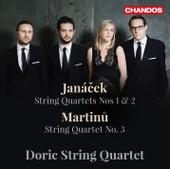 Janáček: String Quartets Nos. 1 & 2 - Martinů: String Quartet No. 3 by Doric String Quartet