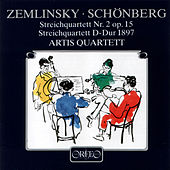 Zemlinsky: String Quartet No. 2, Op. 15 - Schoenberg: String Quartet in D Major by Artis Quartett