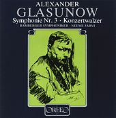 Glazunov: Symphony No. 3 & Concert Waltz No. 2 by Bamberger Symphoniker