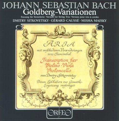 Play & Download Bach: Goldberg Variations, BWV 988 by Dmitry Sitkovetsky | Napster