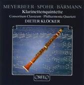 Play & Download Meyerbeer, Spohr, Busoni & Baermann: Clarinet Quintets by Dieter Klöcker | Napster