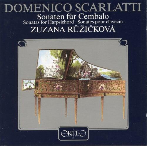 D. Scarlatti: Harpsichord Sonatas by Zuzana Růžičková