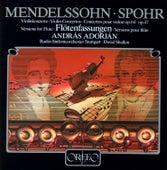 Mendelssohn & Spohr: Violin Concertos Arranged for Flute by András Adorján