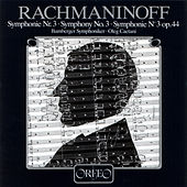 Rachmaninoff: Symphony No. 3 in A Minor, Op. 44 by Bamberger Symphoniker