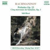 Préludes Op. 23 / Cinq morceaux by Sergei Rachmaninov