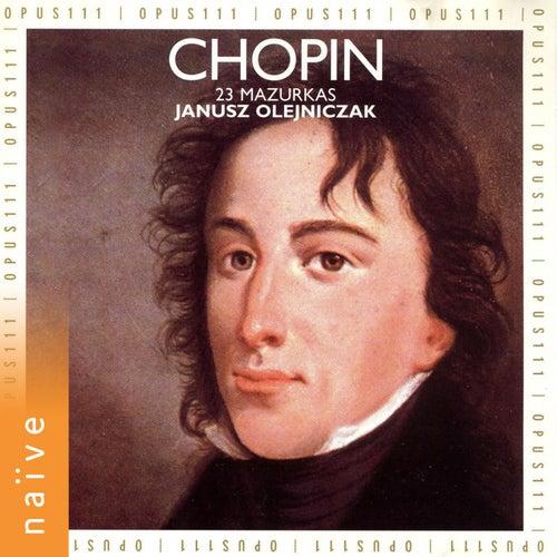 Frédéric Chopin: 23 Mazurkas by Janusz Olejniczak
