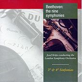 Beethoven the Nine Synphonies: No. 3, No. 4 by Josef Krips