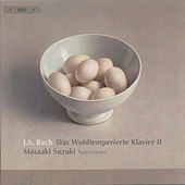 BACH, J.S.: Well-Tempered Clavier (The), Book 2 (Suzuki) by Masaaki Suzuki