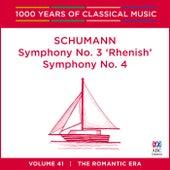 Schumann: Symphony No. 3 'Rhenish' & Symphony No. 4 by Tasmanian Symphony Orchestra