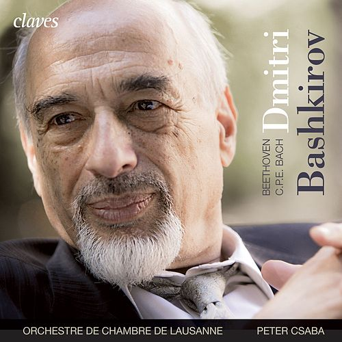 Beethoven: Piano Concerto in D Major, based on Op. 61 - C.P.E. Bach: Concerto in C Minor, Wq. 43, No. 4 by Dmitri Bashkirov