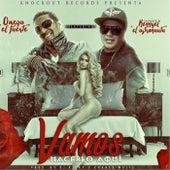 Play & Download Vamos Hacerlo Aqui (feat. La Pauta Kennyel el Astronauta) by Omega El Fuerte | Napster