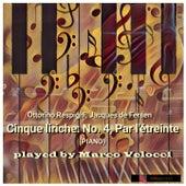 Cinque liriche, P. 108: No. 4, Par l'étreinte (Arr. for Piano Solo) by Marco Velocci