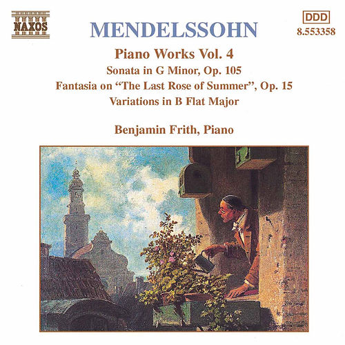 Piano Works Vol. 4 by Felix Mendelssohn
