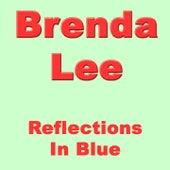 Reflections In Blue von Brenda Lee