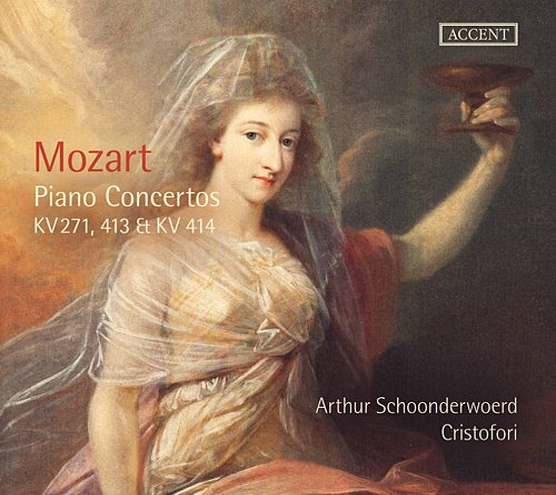 Mozart: Piano Concertos Nos. 9, 10 & 11 by Arthur Schoonderwoerd