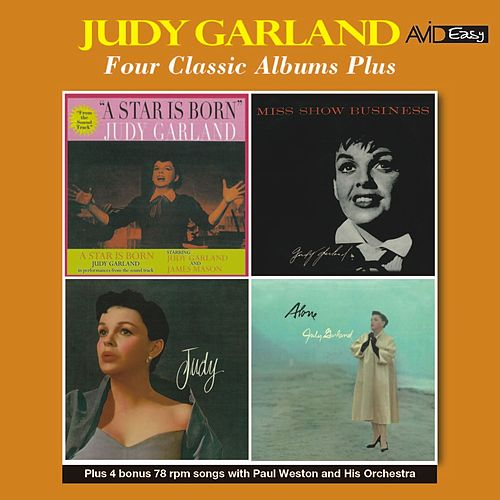 Four Classic Albums Plus (A Star Is Born / Miss Show Business / Judy / Alone) [Remastered] de Judy Garland
