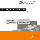 Play & Download PLAY IT - Study-CD for Cello: Jean Baptiste Bréval, Concertino Nr. 3, A major / A-Dur by Various Artists | Napster