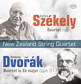 Play & Download Székely & Dvořák: String Quartets by New Zealand String Quartet | Napster