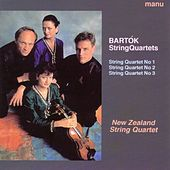 Bartók: String Quartets Nos. 1 - 3 by New Zealand String Quartet