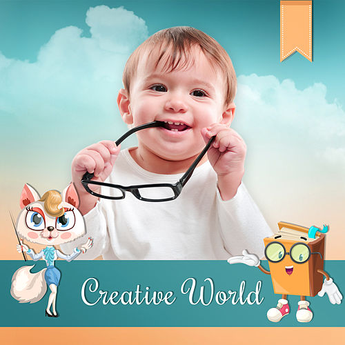 Creative World – Brilliant Music, Development Child, Educational Tracks, Smart, Little Baby, Classical Sounds de Creative Kids Masters