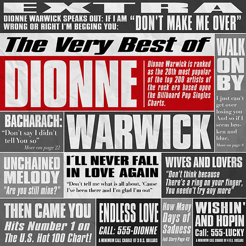 Play & Download The Very Best of Dionne Warwick by Dionne Warwick | Napster