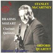 Brahms & Mozart: Clarinet Quintets von Stanley McCartney