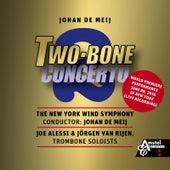Play & Download Two-Bone Concerto (Live Recording) [feat. Joe Alessi & Jörgen Van Rijen] by Johan de Meij | Napster