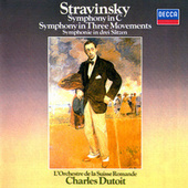 Stravinsky: Symphony in C; Symphony in Three Movements von Charles Dutoit