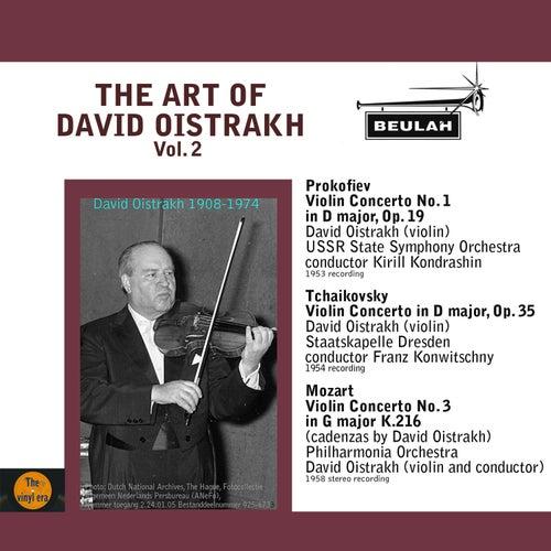 Play & Download The Art of David Oistrakh, Vol. 2 by David Oistrakh | Napster