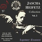 Jascha Heifetz Collection, Vol. 2 (Live) by Various Artists