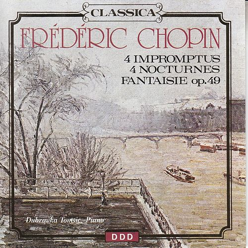 Frédéric Chopin: 4 Impromptus, 4 Nocturnes & Fantaisie No. 14 by Peter Schmalfuss