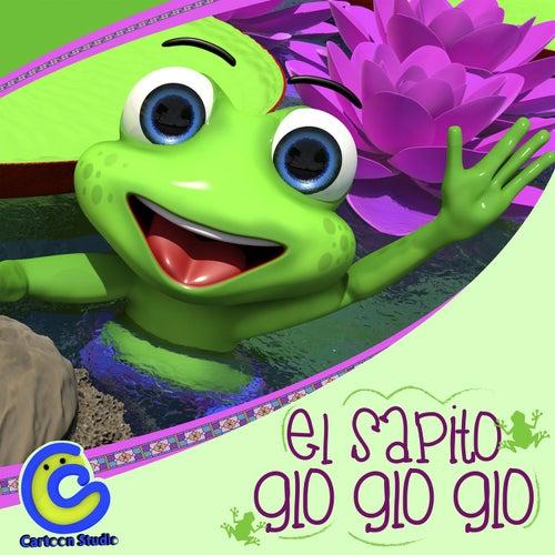El Sapito Glo Glo Glo Canción Infantil de Cartoon Studio