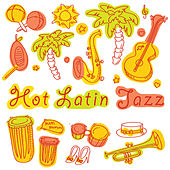 Play & Download Hot Latin Jazz by Various Artists | Napster