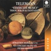 Telemann: Essercizii Musici, Trio, Solos & Fantaisies de Le Concert Français, Pierre Hantaï, Sébastien Marq
