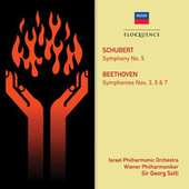 Schubert: Symphony No. 5; Beethoven: Symphonies Nos. 3, 5 & 7 by Sir Georg Solti