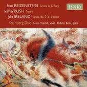 Play & Download Reizenstein, Bush & Ireland: Sonatas for Violin & Piano by Steinberg Duo | Napster
