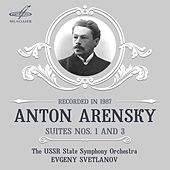 Play & Download Arensky: Suites by Evgeny Svetlanov | Napster