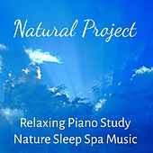 Natural Project - Relaxing Piano Study Nature Sleep Spa Music for Stress Relief Deep Meditation with Healing Calming Soft Sounds by Meditation Music Guru