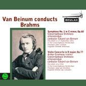 Van Beinum Conducts Brahms by Eduard Van Beinum