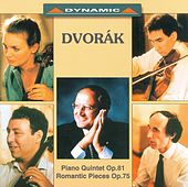 Play & Download Dvorak: Piano Quintet in A Major / 4 Romantic Pieces by Salvatore Accardo | Napster
